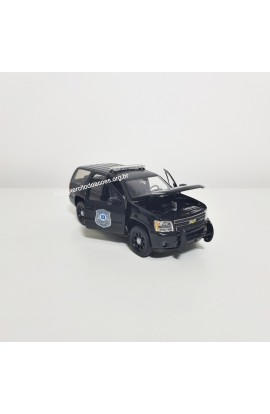 Chevrolet Tahoe 2008 Policial 1:36 Welly
