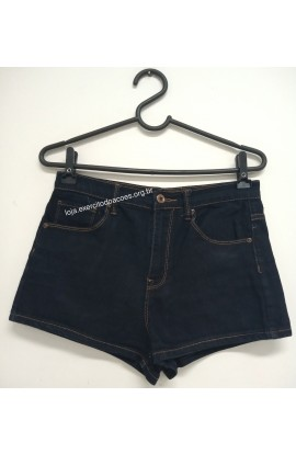 Short Jeans Escuro Forever 21 T38